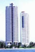 Condo for sale Sky Beach, Wong amat 2 bedrooms 2 bathrooms 94 sqm living area 18 floor 7,000,000 Baht