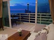 Condo for sale Jomtien Beach 1 bedrooms 1 bathrooms 55 sqm living area 21 floor 3,250,000 Baht