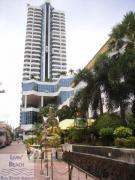 Condo for rent Pattaya Beach Rd., 1 bedrooms 1 bathrooms 45 sqm living area 18 floor 18,000 Baht per month